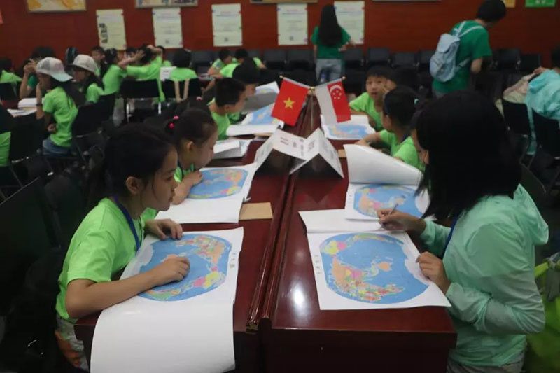 我是未來外交官|研學學員風采-南陽市博睿教育咨詢有限公司