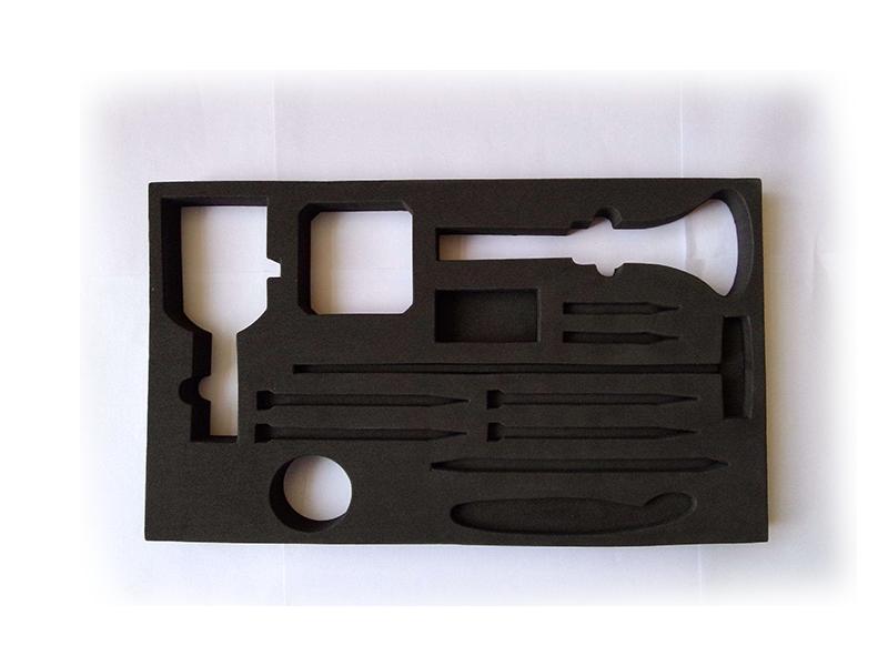 EVA泡棉胶垫内衬 刀模EVA冲型内托盒子 EVA 泡沫型材|EVA泡棉内衬/雕刻-佛山市鸿辰包装材料有限公司