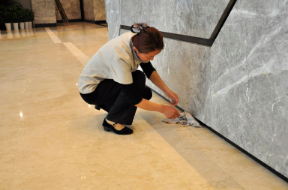 重庆保洁:石材锈斑要如何处理?