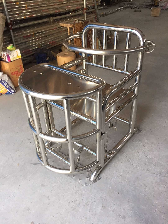 51A型不銹鋼審訊椅|審訊椅-安陽騰安商貿有限公司