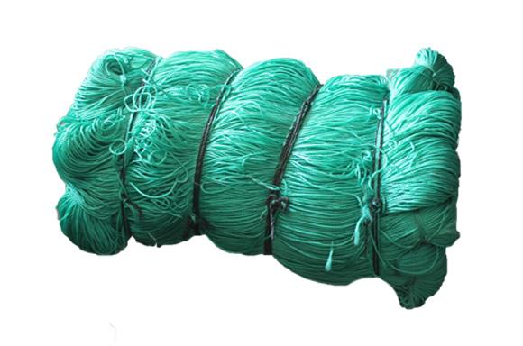 草帘线网绳的打结方法?
