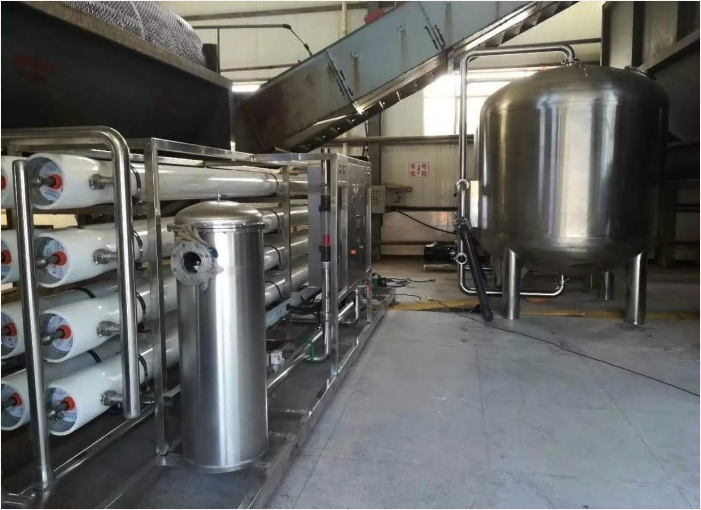 15T/H 食品加工厂反渗透水处理设备|新闻咨询-东莞市水视界环保科技有限公司