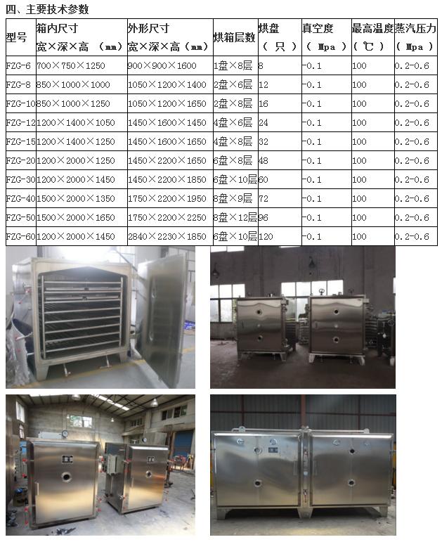 FZG系列低溫真空干燥箱(蒸汽)|干燥設備-南京國威干燥設備有限公司