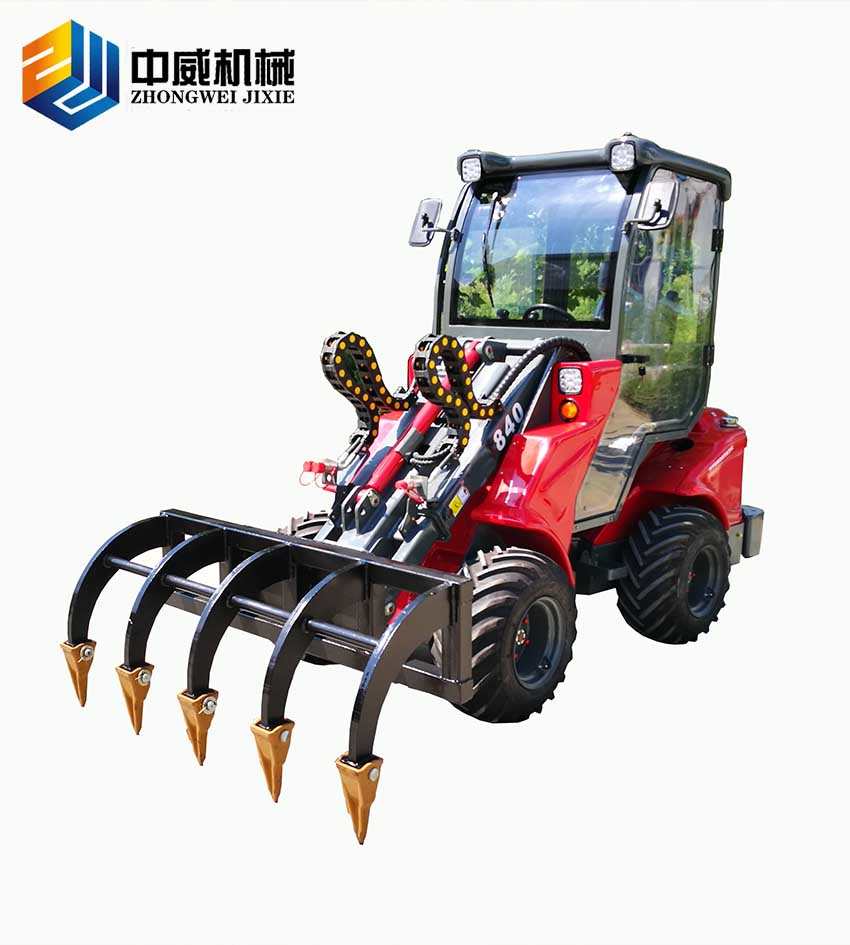 歐式花園式裝載機 ZW20A-1.2噸-青州市中威機械有限公司