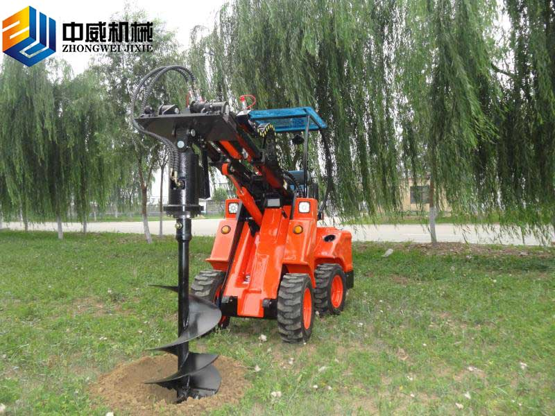 多功能小型伸縮臂裝載機|ZW20A-1.2噸-青州市中威機械有限公司