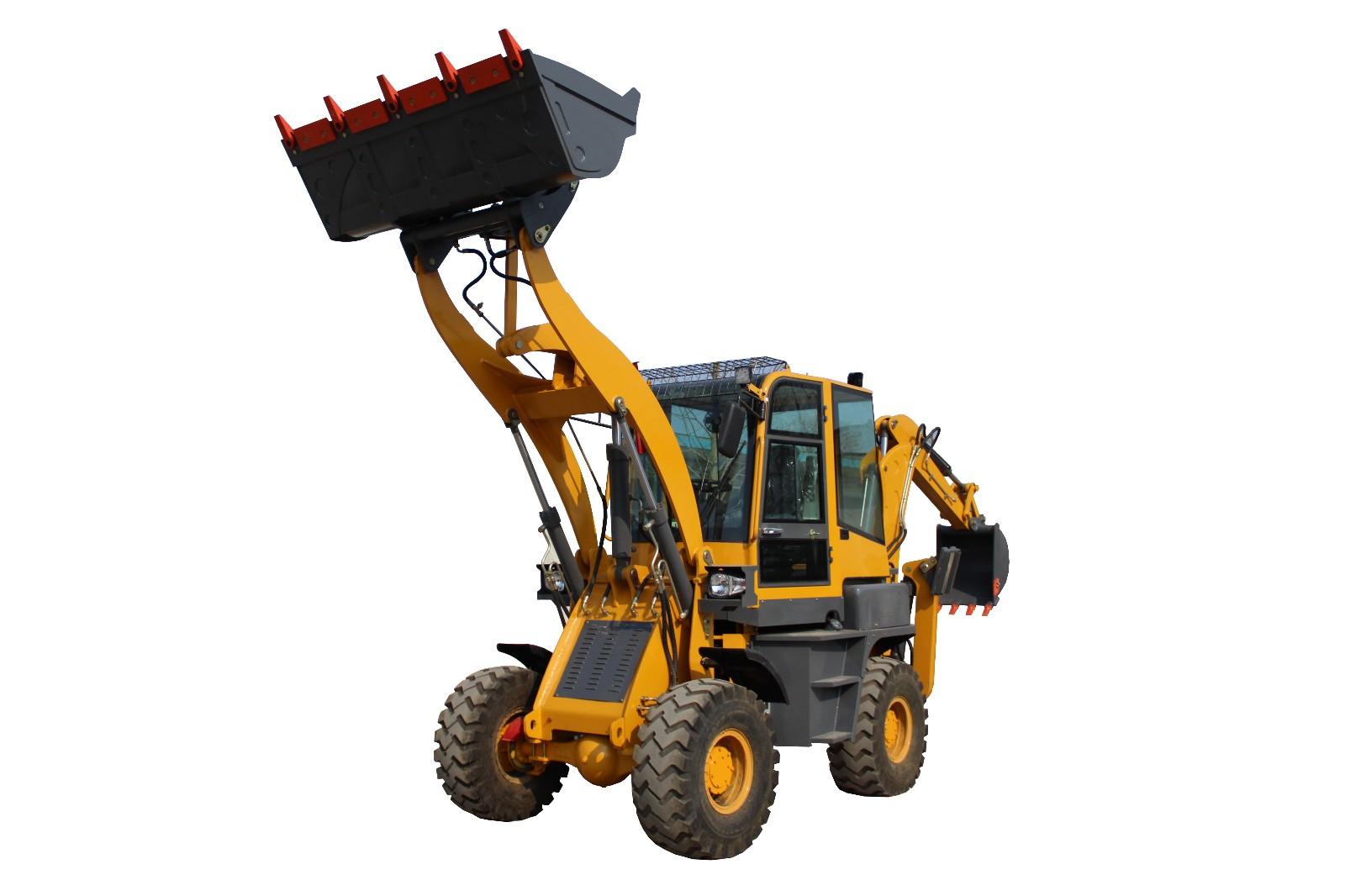 反鏟裝載機 兩頭忙 backhoe loader-青州市中威機械有限公司
