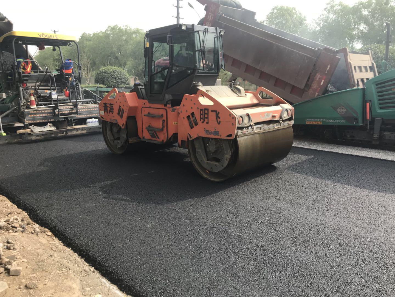 西宁市宁张公路革新工程——沥青路面实验段|明飞动态-青海明飞投资发展有限公司