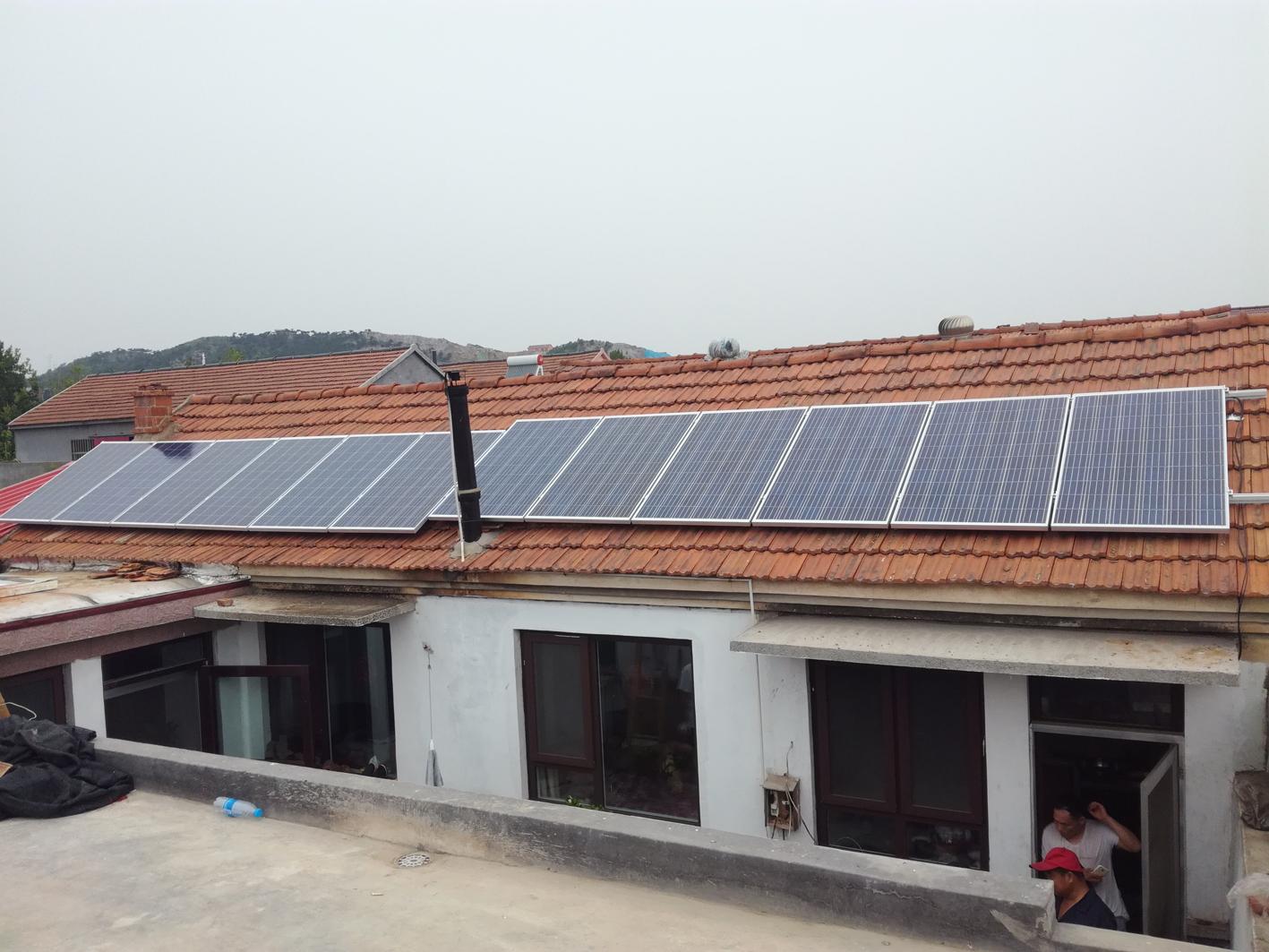胶州家庭3KW瓦房屋顶并网电站.jpg