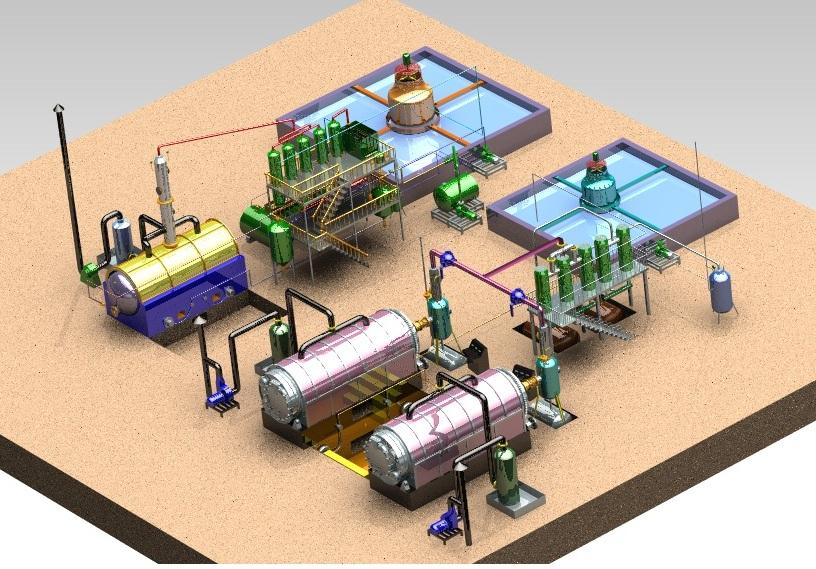 炼油设备效果图|单页-商丘四海能源科技有限公司