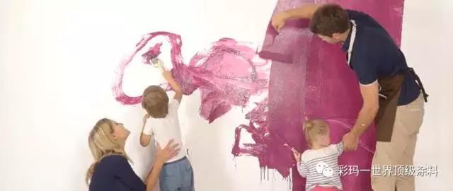 彩马健康儿童涂料