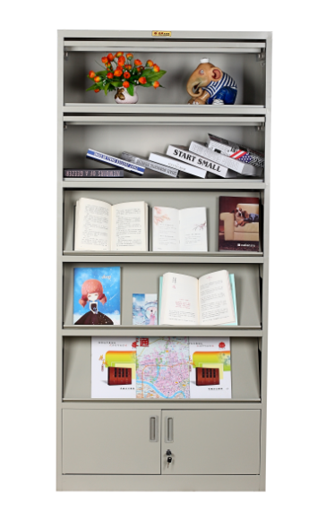 下挡期刊架 书架-广西花城办公家具有限公司