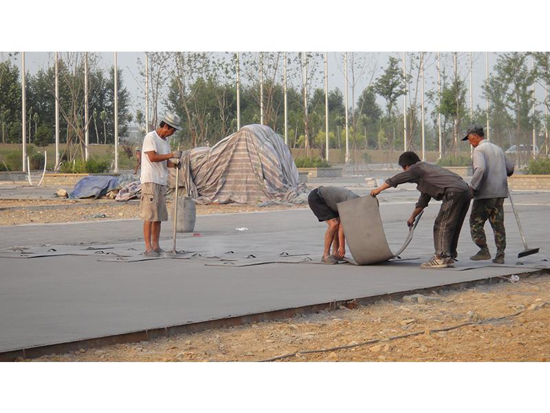 压模地坪施工工艺|技术中心-沈阳典石景艺建材技术开发有限公司