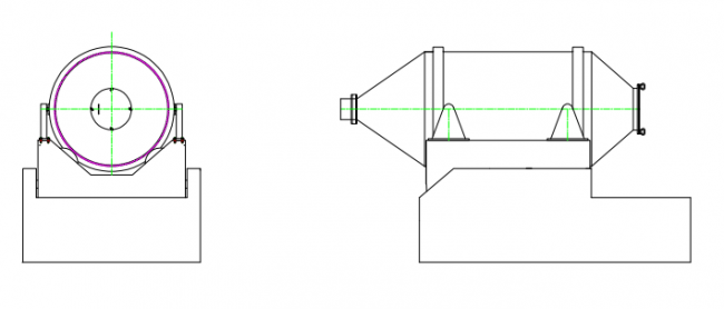 EYH系列二維運動混合機|混合制粒設備-南京國威干燥設備有限公司