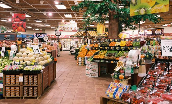 超市环境_美国月子会所