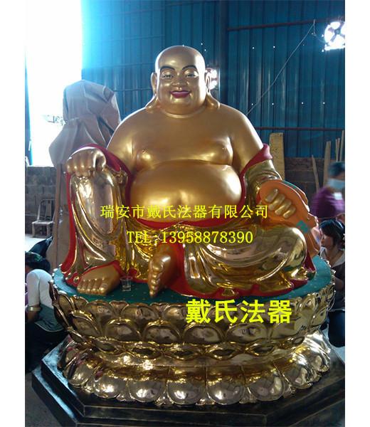 铜雕大肚弥勒佛寺庙殿前佛像|推荐产品-瑞安市戴氏法器有限公司