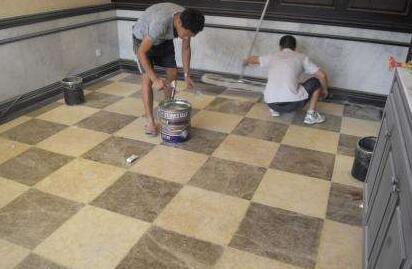 重庆保洁:石材泛碱是什么造成的?