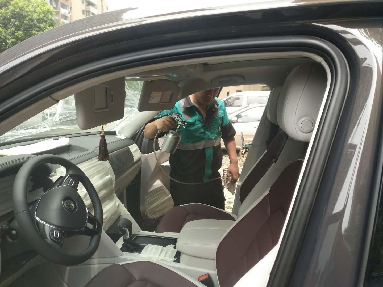 新车除甲醛治理|汽车交通工具空气净化-武汉小小叶子环保科技有限公司