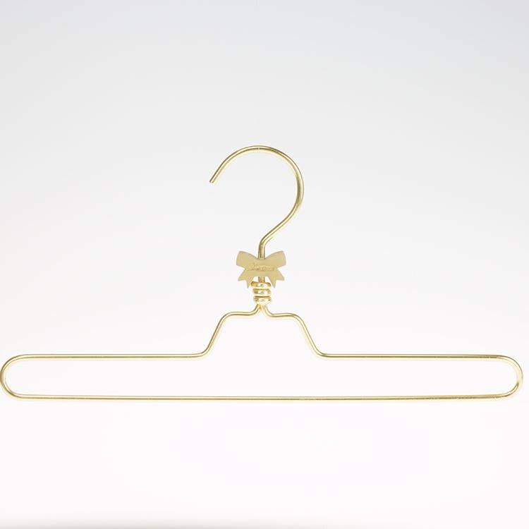 金色童装铝单线衣架