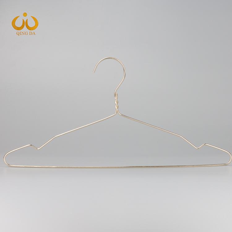 玫瑰金铝线衣架