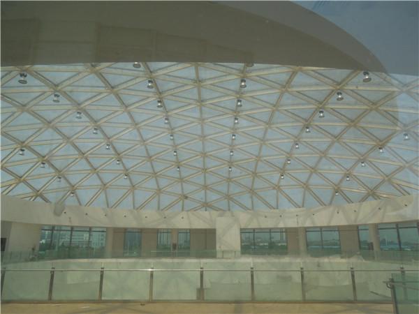 中国移动(洛阳)呼叫中心篮球馆单层网壳工程2.jpg
