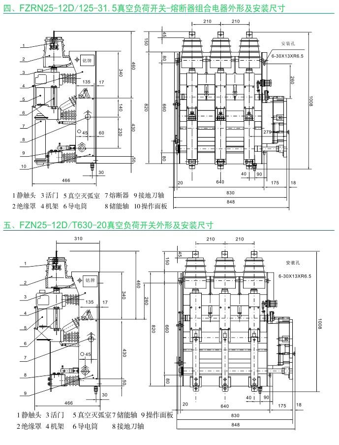 FZ(R)N25-12系列 户内交流高压真空负荷开关(熔断器)|户内负荷开关-www.533999.com,香港53999特马分析网