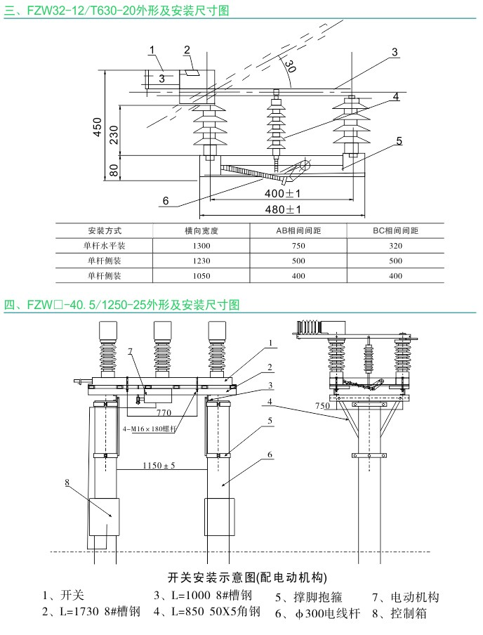 FZW32-12T630-20 FZW-40.5 1250-25 户外高压隔离真空负荷开关|户外负荷开关-www.533999.com,香港53999特马分析网