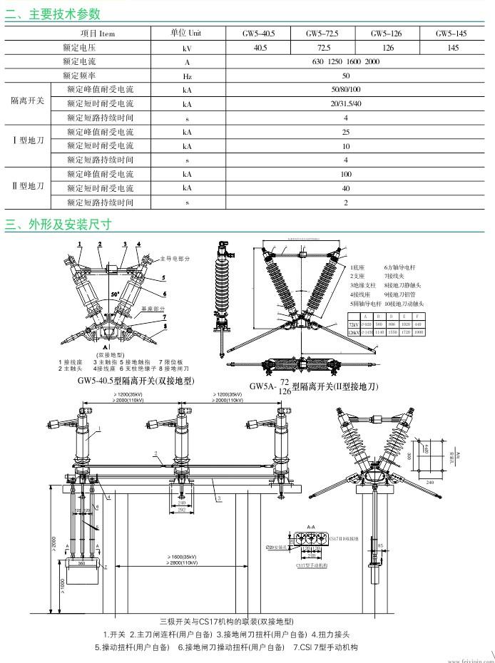 GW5A-40.5KV 户外高压隔离开关|户外隔离开关-www.533999.com,香港53999特马分析网