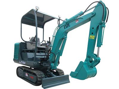 LZ-16A微型挖掘机
