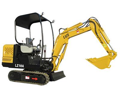 LZ-18A微型挖掘机