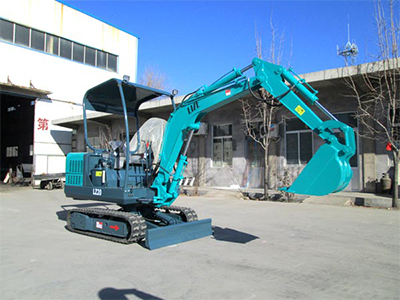 LZ-20微型挖掘机