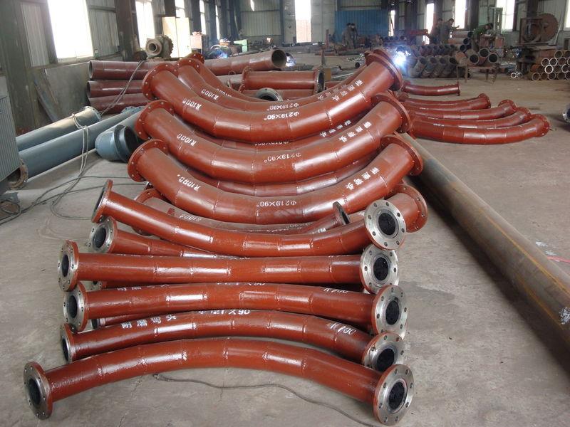 碳化硅耐磨彎頭|耐磨管件系列-滄州泰鋼管道有限公司.