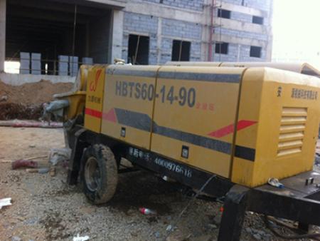 河南60泵施工现场