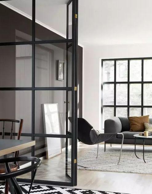 玻璃隔斷加入家居裝飾,讓你的家時髦感倍增!_重慶隔斷