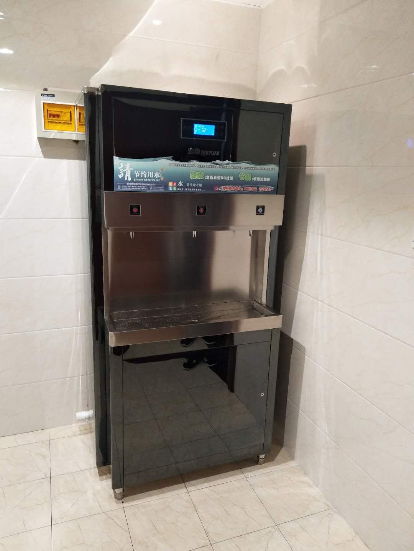 雁滩高科孵化大厦沁园QYW-3PW-3安装实例|水处理成功案例-甘肃格瑞思凯环保科技有限公司