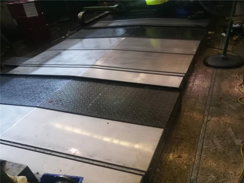 上海定製鋼板防護罩不鏽鋼防護罩伸縮式護板機床導軌護板|新聞動態-滄州利來娛樂AG旗艦廳製造有限公司