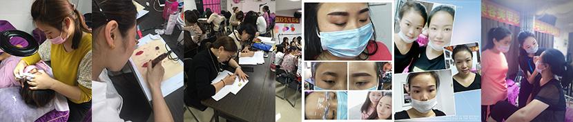 韩式半定妆纹绣班|课程介绍-魅兰莎美容化妆培训