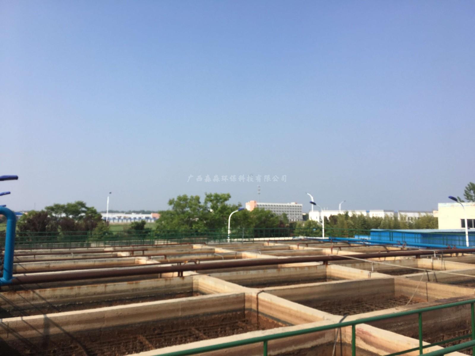 江苏泗阳纺织印染废水处理工程|工程案例-广西森淼环保科技有限公司