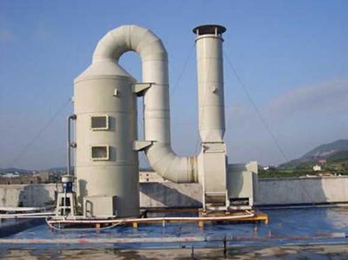 福建鑫歷瀝青混凝土工程有限公司導熱油鍋爐為其脫硫塔.jpg