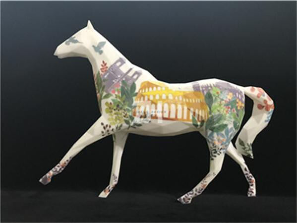 3D打印《装饰马》