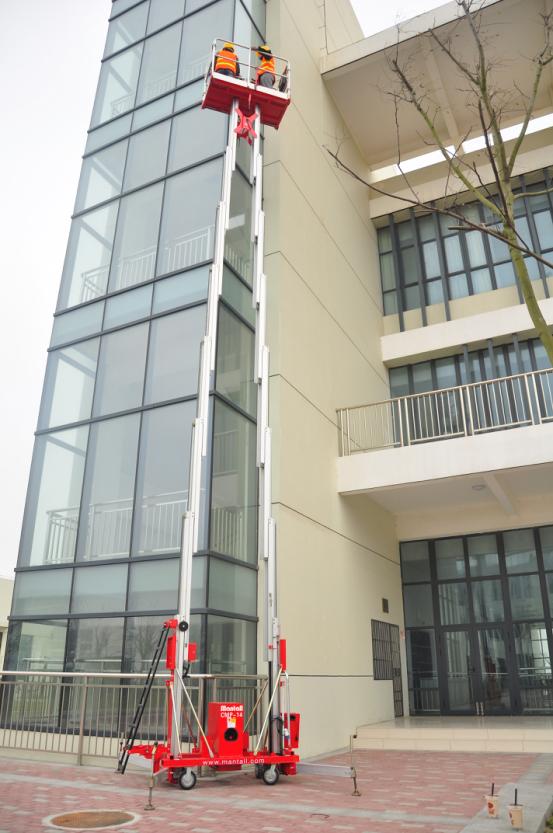 单桅柱型升降平台【沃森】欢迎咨询  升降平台-河南沃森环保科技有限公司