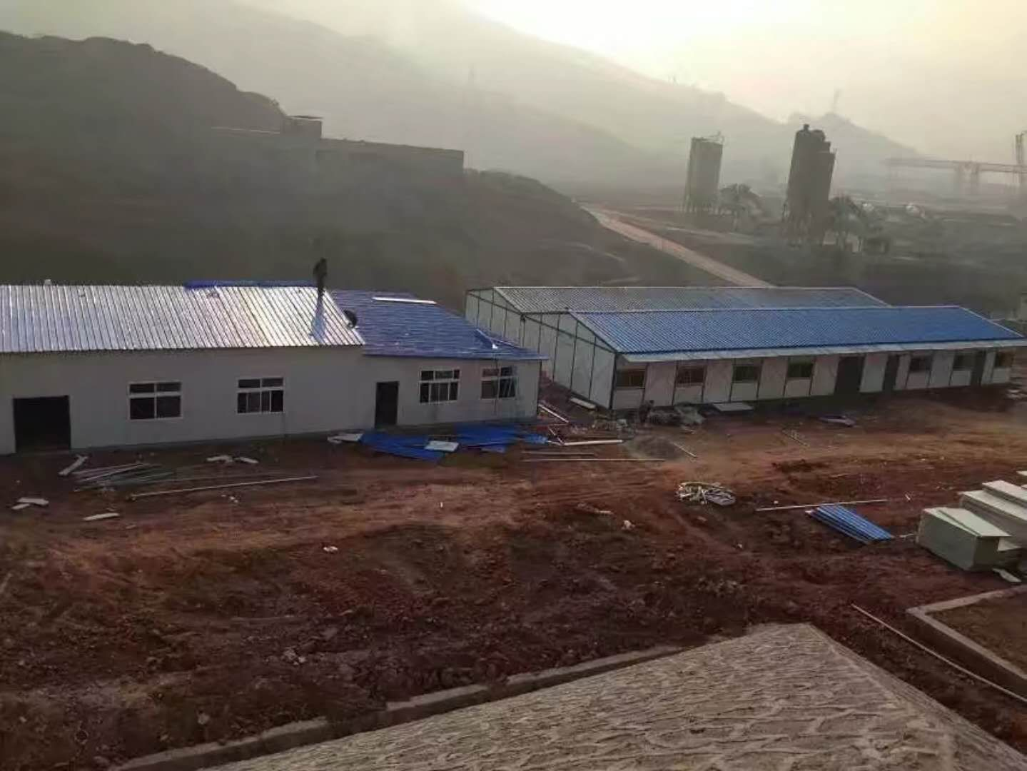 延安富县活动房|经典案例-陕西东徽钢结构活动房工程有限公司