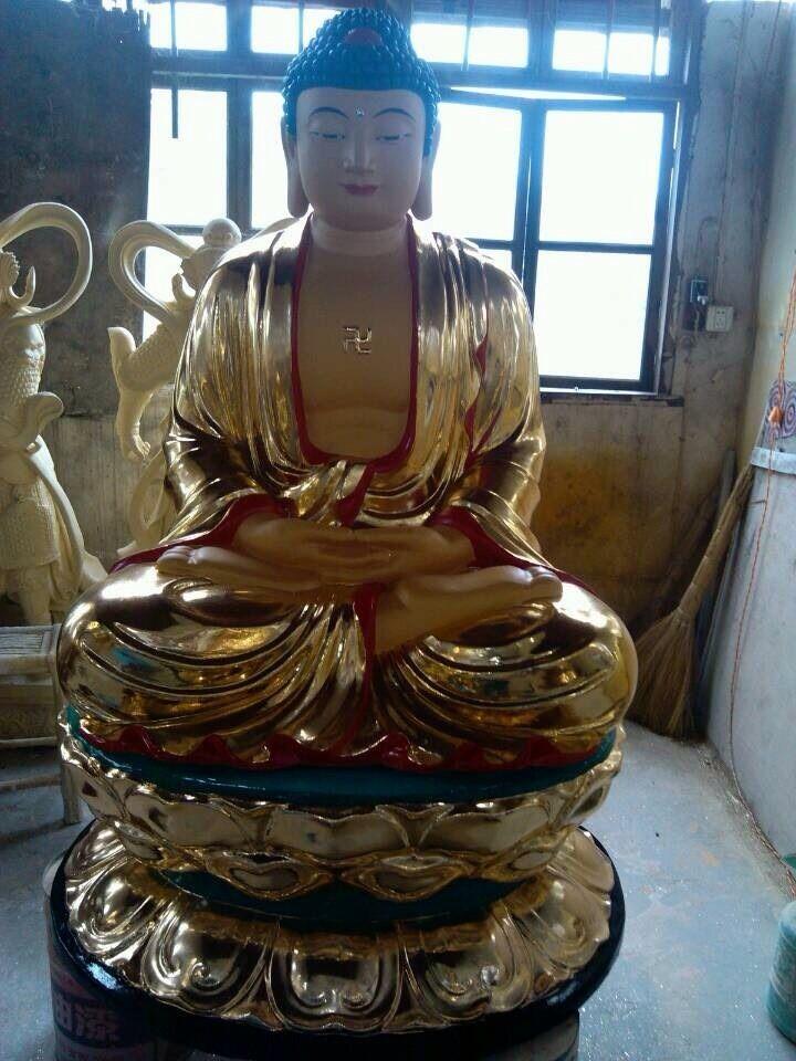 寺庙大型铜佛像雕塑|佛教铜佛像-瑞安市戴氏法器有限公司