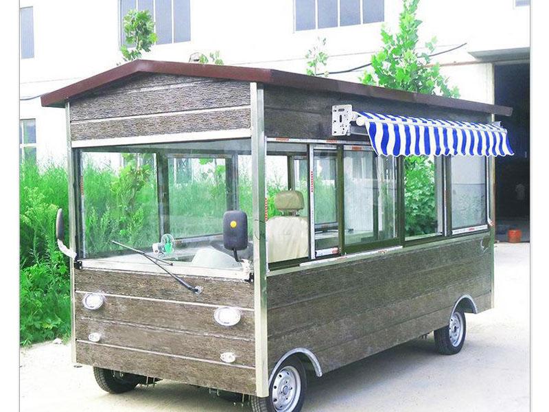 木屋小吃车