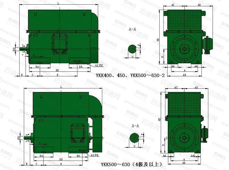 西安西玛直流电机|YKK系列10KV高压电机|高压电机-陕西西玛电气制造有限责任公司