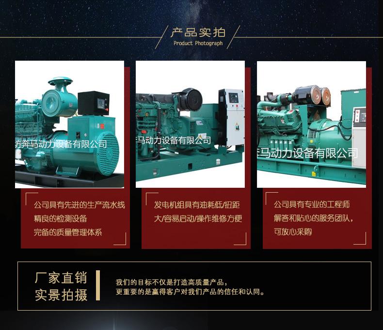 800KW发电机组|康明斯系列柴油发电机组-潍坊奔马动力设备有限公司