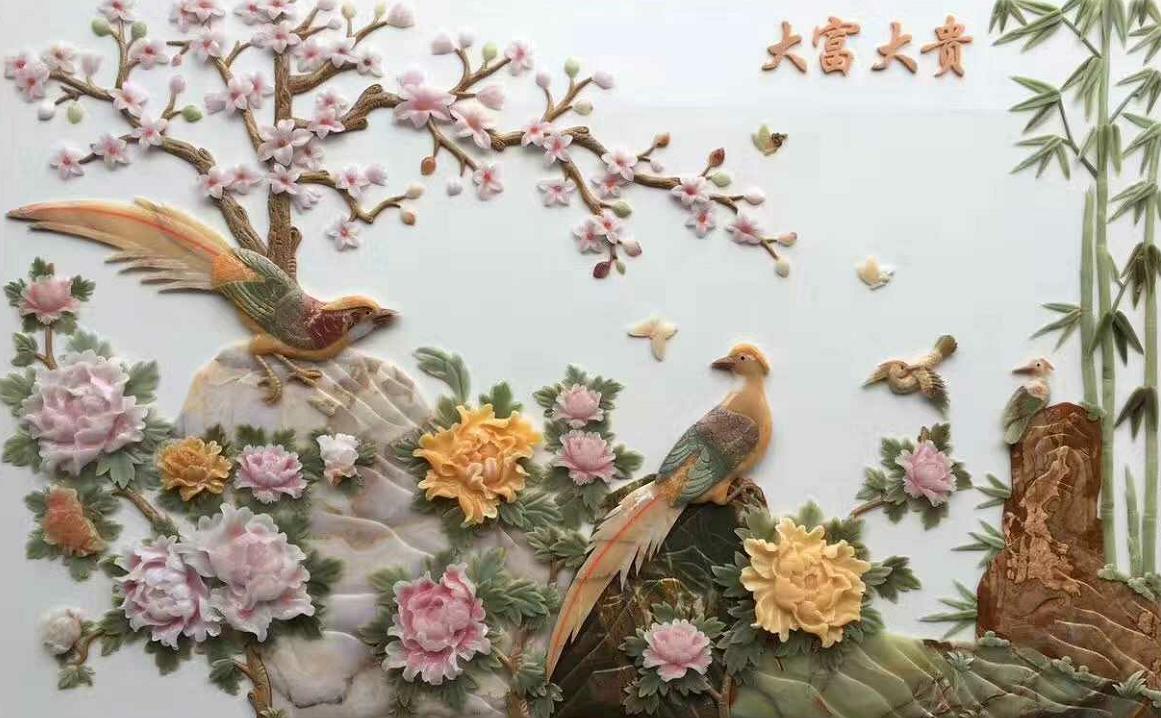 彩雕|彩雕效果-云浮市天造美石材有限公司