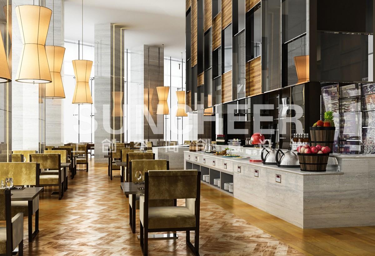 酒店餐厅_重庆餐饮设计公司【上创品牌策划】