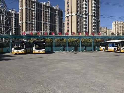 黑龍江公交首末站安裝1臺模塊爐反饋圖 模塊爐-大連渤爾科技有限公司