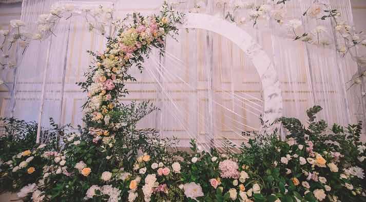 婚礼布置的小窍门 最新动态-奈斯婚礼企划