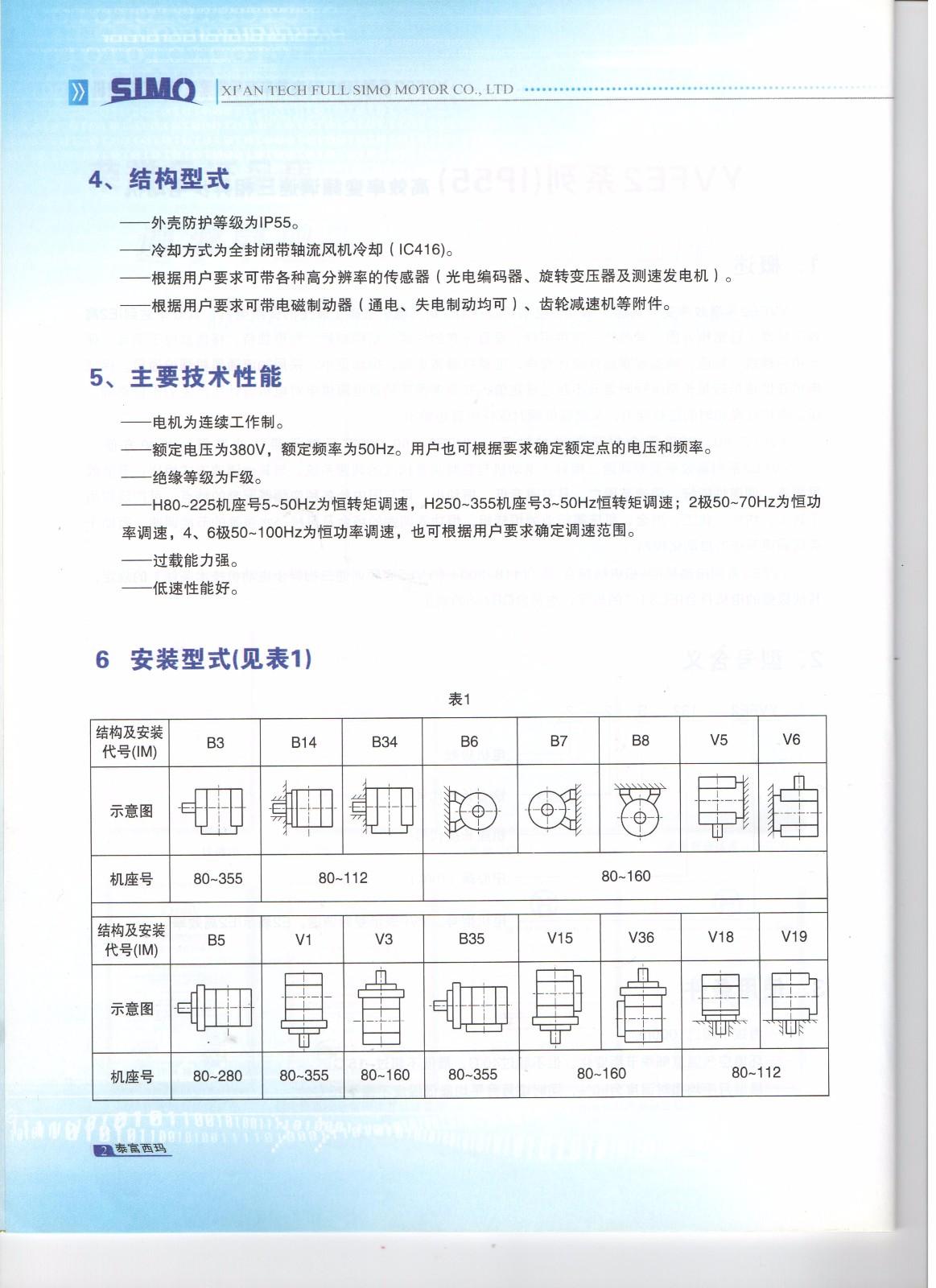 YVFE2系列变频调速三相异步电机|三相异步电机-陕西西玛电气制造有限责任公司